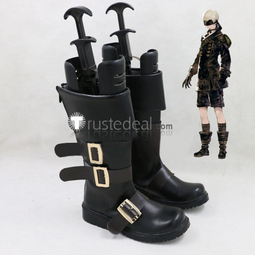NieR Automata 9S YoRHa No.9 Type S Cosplay Boots Shoes