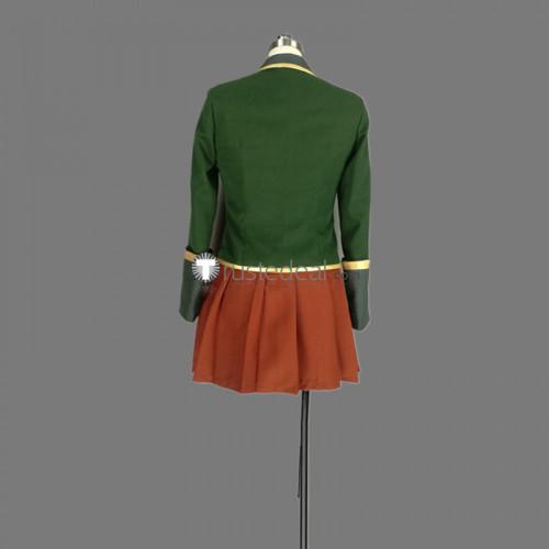 Re:Creators Hoshikawa Hikayu Green Cosplay Costume