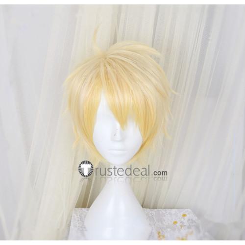 Ensemble Stars Knights Arashi Narukami Blonde Cosplay Wig