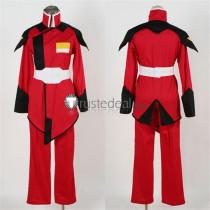 Mobile Suit Gundam SEED Athrun Zala Red Military Uniform Cosplay Costume