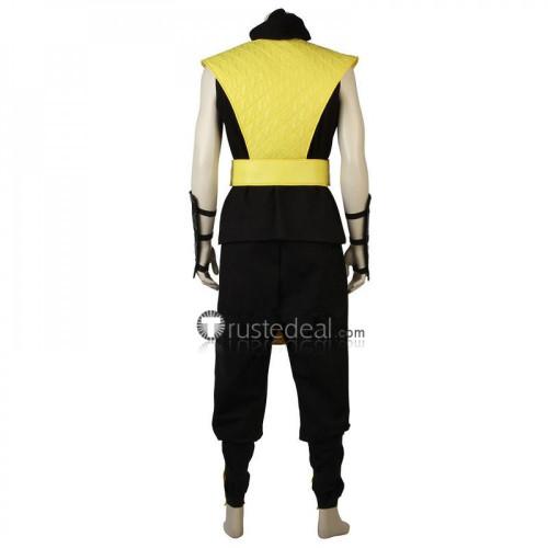 Mortal Kombat X Scorpion Yellow Cosplay Costume