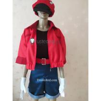 Hataraku Saibou Cells at Work Erythrocyte Red Blood Cell Cosplay Costume