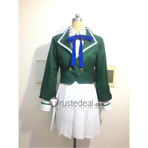 Zonbi Rando Saga Zombie Land Saga Lily Hoshikawa Green Cosplay Costume
