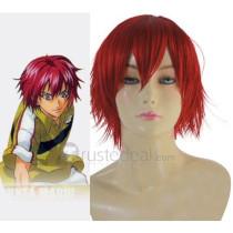 Prince of Tennis Bunta Marui Red Cosplay Wig