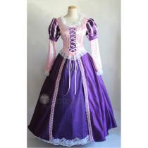 Tangled Rapunzel Disney Princess Elegant Cosplay Costumes