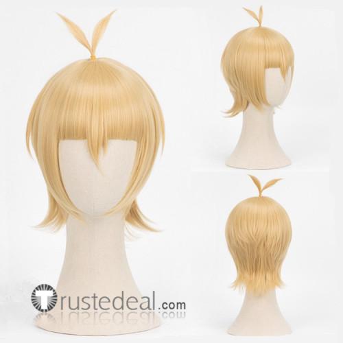 Tokyo Ghoul Re Season 3 Ginshi Shirazu Quinx Blonde Cosplay Wig