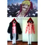 One Piece Donquixote Rosinante Black Cosplay Costume