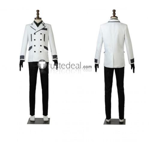 Tokyo Ghoul Re  Season 3 Kuki Urie Quinx CCG Uniform White Cosplay Costume