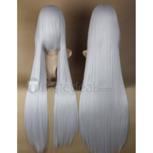 Vampire Knight Hiou Shizuka Long White Cosplay Wig