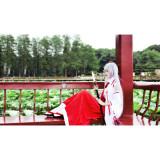 Armed Girl's Machiavellism Inaba Tsukuyo Miko Witch Kimono Cosplay Costume