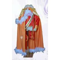 Hetalia Axis Powers America Alfred F Jones Chess King Orange Cosplay Costume