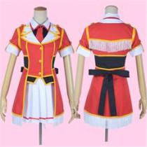 Love Live Rin Hoshizora Umi Nozomi Maki Nico Hanayo Honoka Eli Kotori Red Perform Cosplay Costume