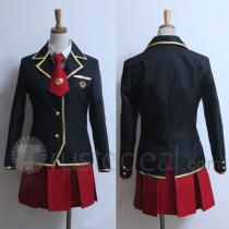 Baka to Tesuto to Shokanjuu Kinoshita Yuuko School Uniform Cosplay Costume