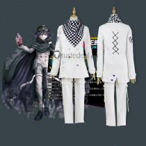 Danganronpa v3 Kokichi Oma White Cosplay Costume