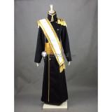 Hetalia Axis Powers Russia Ivan Braginsky Black Military Uniform Cosplay Costume