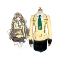 Code Geass Lelouch of the Rebellion Nunnally Shirley Fenette Academy Uniform Cosplay Costume
