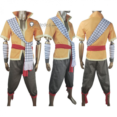 Fairy Tail Dragon Cry Natsu Dragneel Cosplay Costume