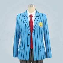 Yowamushi Pedal Hakogaku Manami Sangaku and Arakita Academy Boy Uniform Cosplay Costume
