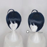 Act! Addict! Actors! A3! Winter Troupe Tsukioka Tsumugi Dark Blue Cosplay Wig