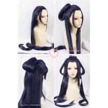 Touken Ranbu Online Jiroutachi Purple Cosplay Wig