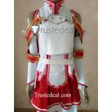 Sword Art Online KoB Asuna Cosplay Costume