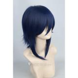 K Munakata Reishi Blue Cosplay Wig