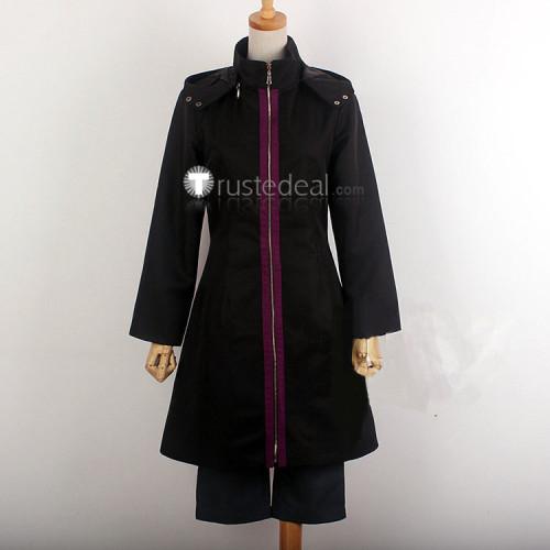 Tokyo Ghoul Touka Kirishima Black Battle Uniform Cosplay Costume 3