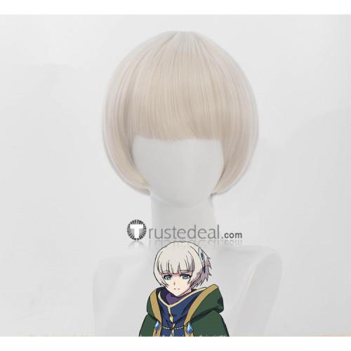 Re Zero Kara Hajimeru Isekai Seikatsu Meteora Ousterreich Pale Grey Cosplay Wig
