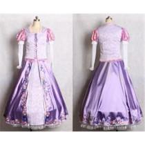 Tangled Rapunzel Disney Princess Stylish Cosplay Costumes