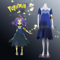 Pokemon Sun and Moon Acerola Cosplay Costume