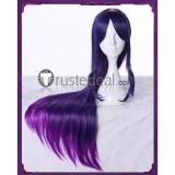 League of Legends LOL Star Guardian Syndra Long Purple Cosplay Wig 90cm