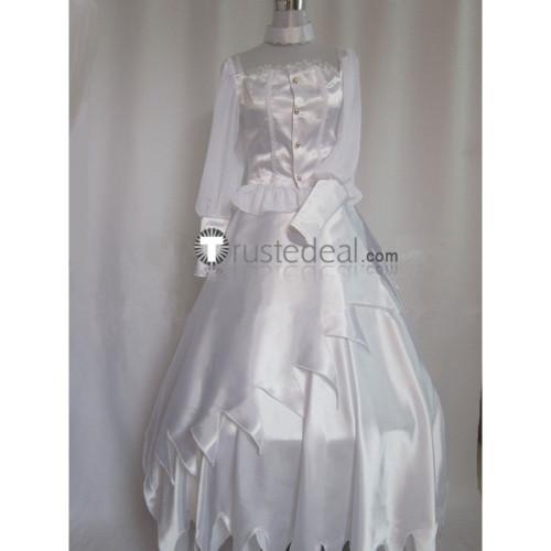 Black Butler Kuroshitsuji Angela Blanc White Cosplay Costume