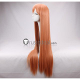 Spice and Wolf Holo Long Brown Cosplay Wig