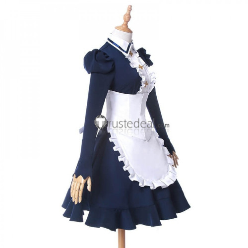 The Seven Deadly Sins Revival of The Commandments Elizabeth Liones Maid Cosplay Costume