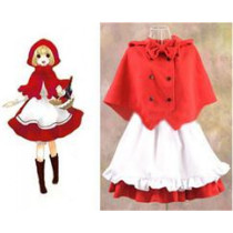 Little Red Riding Hood Dress Cosplay Costume