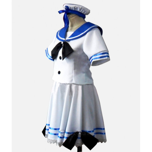 Panty and Stocking with Garterbelt Stocking Sailor Cosplay Costume