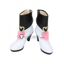 The Idolmaster Cinderella Girls Avenue Mode Frederica Miyamoto Cosplay Boots Shoes
