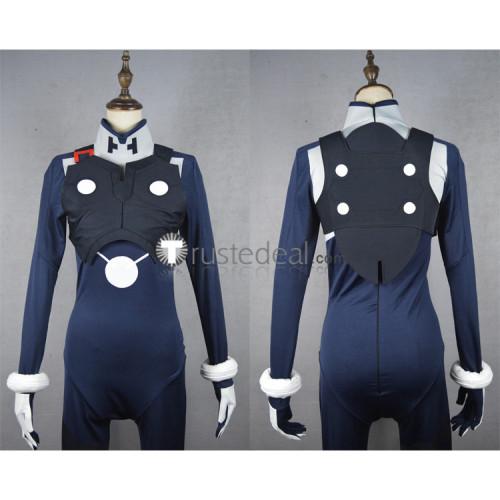 Darling in the Franxx Hiro Code 016 Pilots Battle Blue Jumpsuit Bodysuit Cosplay Costume