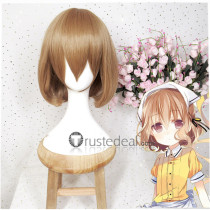 Blend S Mafuyu Hoshikawa Short Brown Cosplay Wig