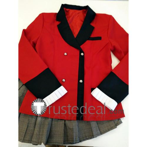 Kakegurui Yumemi Yumemite School Uniform Cosplay Costume