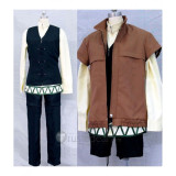 Spice and Wolf Kraft Lawrence Brown Cosplay Costume1
