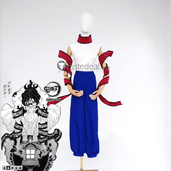 Kimetsu no Yaiba Demon Slayer Gyutaro Cosplay Costume