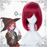 Danganronpa V3 Killing Harmony Himiko Yumeno Red Cosplay Wigs