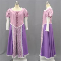 Tangled Rapunzel Disney Princess Beautiful Cosplay Costumes