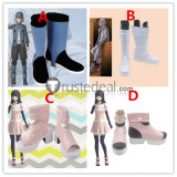 Akudama Drive The Cutthroat Swindler Hacker Cosplay Shoes Boots