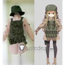 Sword Art Online Gun Gale Online GGO Shinohara Miyu Fukaziroh Cosplay Costume