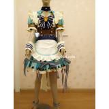 Sword Art Online CR Valentine's Day Asuna Sinon Yuuki Silica Maid Cosplay Costume