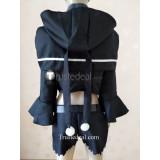 Steins Gate Luka Urushibara Black Cosplay Costume