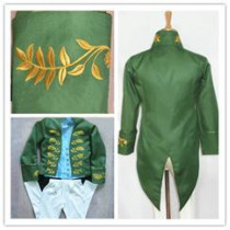 Cinderella 2015 Film Prince Charming Kit Cosplay Costume