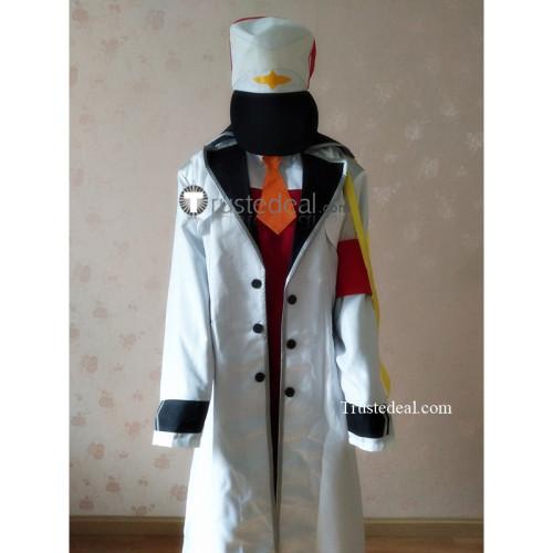 Darling in the Franxx Zero Two Code 002 Pilots Coat Hat Cosplay Costume